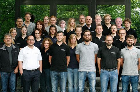 Teamfoto klein Grundbaulabor München